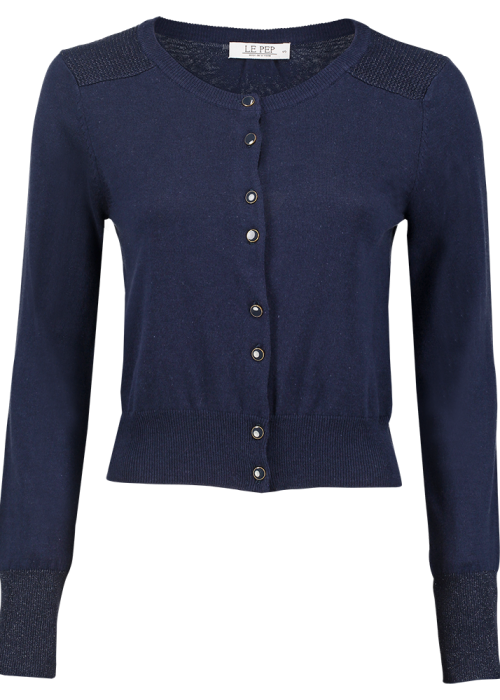 cardigan Elisabeth royal blue