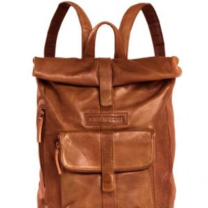 Messenger Backpack cognac