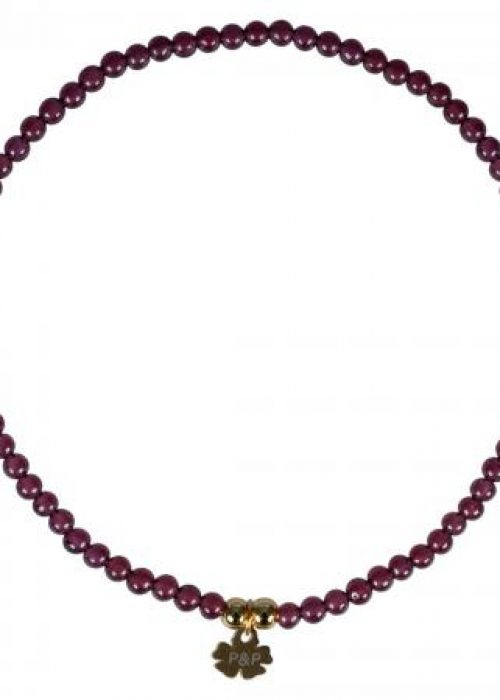 560 A Mini Rocks Bracelet 03 Red Garnet