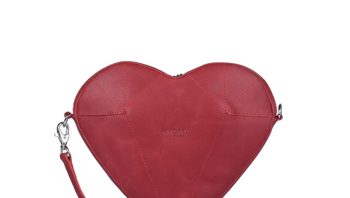 MY LOVE BAG Mini – hunter red