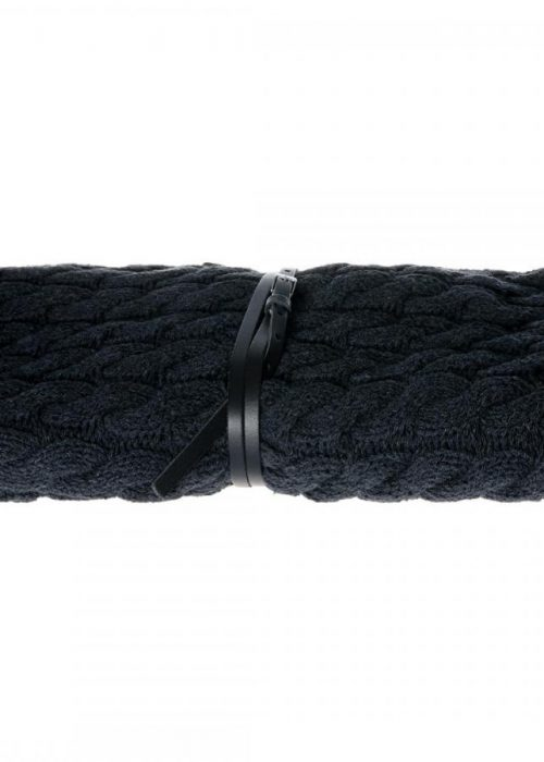 634 Cable Knit XL 01 Almost Black